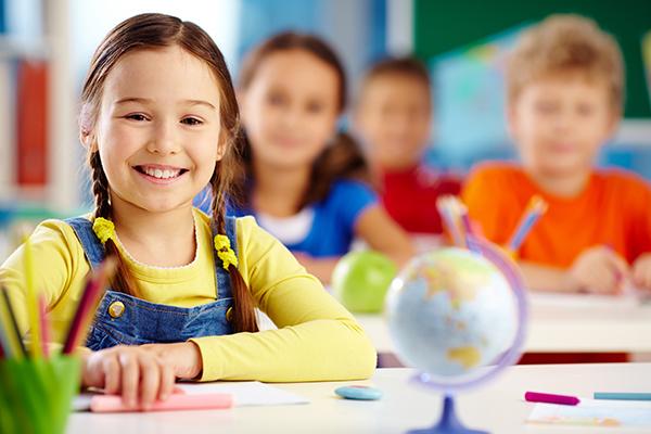 תמונת ילדים בכיתת בית ספר